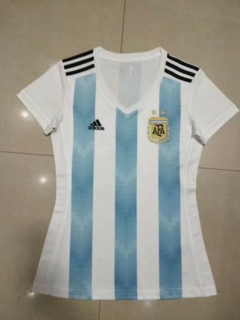 2018 Woman World Cup Argentina Soccer Jersey Uniform National Team Football Jersey  Women Kits