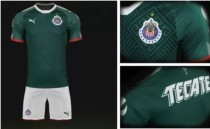 Adult Chivas de Guadalajara 2017/18  Third Jersey Soccer Kit DIY Name Number Green