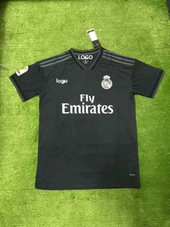 18/19 Cheap Wholesale Adult Real Madrid Away Soccer Jersey Uniform Custom Name And Number
