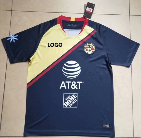 2018/19 Mexico America Away Soccer  Jersey Uniform Men Football Shirt XXL