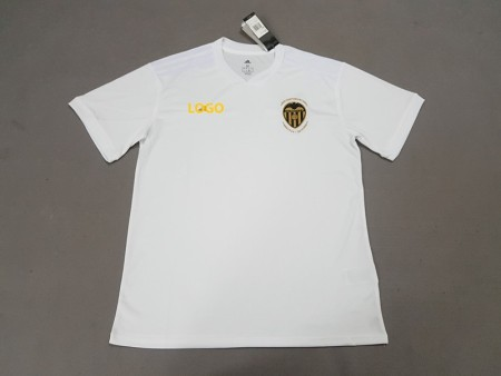 18-19 Man Valencia Home white Soccer Jersey -Thai Quality