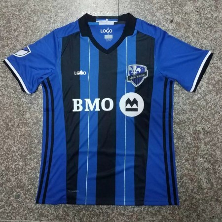 18-19 Men Montreal Impact Home Blue Soccer Jersey -Thai  Quality