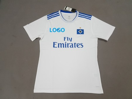 2018/19 Men HSV Home white Soccer Jersey -Thai Quality Cheap Adult Football Shirt