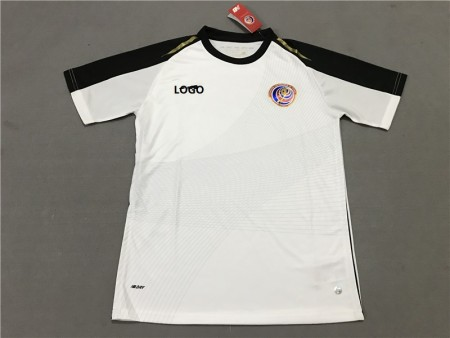18-19 Costa Rica Away white Soccer Jersey -Thai Quality