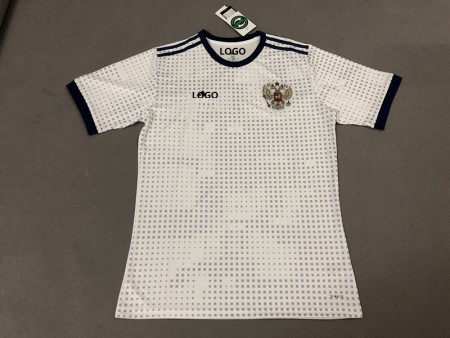 18-19 Russia Away Soccer Jersey -Thai Quality