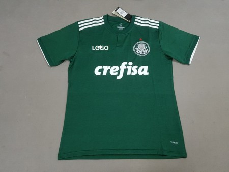 18-19 Men Palmeiras Home Green Soccer Jersey -Thai Quality