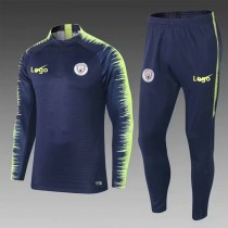 2018/19 Men Manchester City  Soccer Tracksuit Adult Football Training Suit