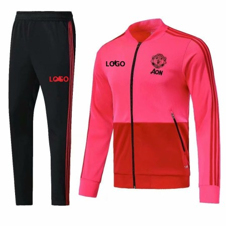 18/19 Manchester United Pink Jacket