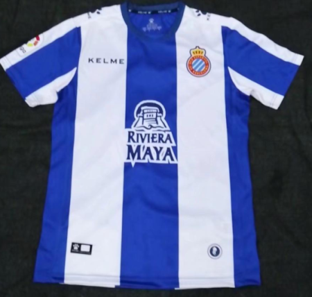 Men RCD Espanyol Football Jersey Adult Soccer Shirt