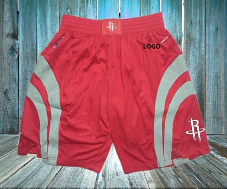 Men Rocket Red Basketball Short