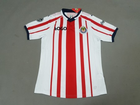 18-19 chivas Home Red Soccer Jersey -Thai Quality