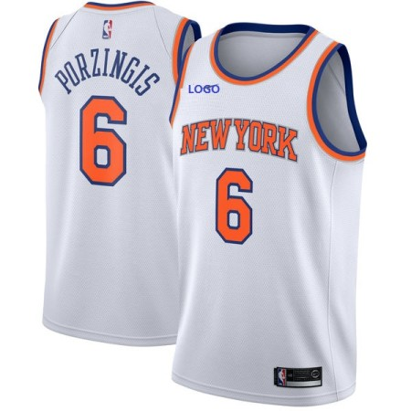 NEW YORK 6 PORZINGIS BASKETBALL JERSEY
