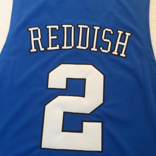 online store f30f0 b76b7 Men #2 Cam Reddish Duke Basketball Jersey Blue