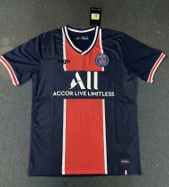 20/21 Fan Version adult PSG home soccer jersey football shirt