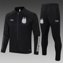 2020-21 Adult Argentina black jacket soccer uniforms football kits