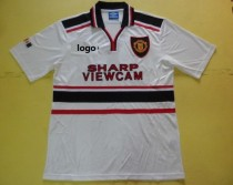 Manchester United 1997 vintage away Sharp Soccer Football Jersey