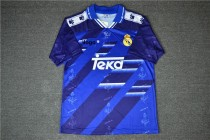 94-96 Thai Quality Madrid Away purple Retro Soccer Jersey