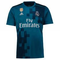 Real Madrid 2017-2018 Third Away Soccer Jersey camisetas de futbol AAA Thailand Quality Discount
