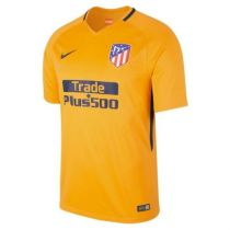 Atletico Madrid 2017-2018 Away Soccer Jersey camisetas de futbol AAA Thai quality yellow color