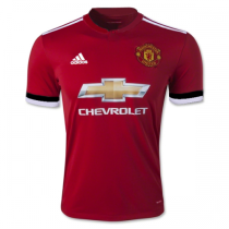 Manchester United 2017-2018 Home Soccer Jersey AAA Thai Quality Cheap Discount Football shirts replica wholesale online free shipping