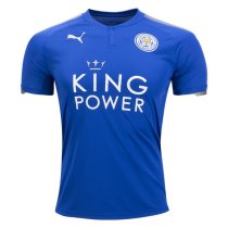 Leicester City 2017-2018 Home Soccer Jersey AAA Thailand Quality Cheap Discount Football Shirts Wholesale Online Store Free Shipping