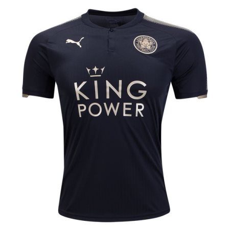 Leicester City 2017-2018 Away Soccer Jersey AAA Thai Version Quality Cheap Discount Football Shirts Wholesale Online Store Free Shipping