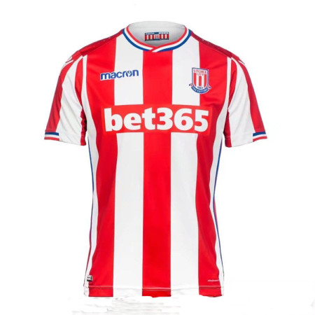 Stoke City 2017-2018 Home Soccer Jersey AAA Thailand Quality Cheap Discount Football Shirts Wholesale Online Store Free Shipping