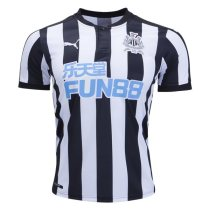Newcastle United 2017-2018 Home Soccer Jersey AAA Thai Quality Cheap Discount Football Shirts Wholesale Online Store Free Shipping