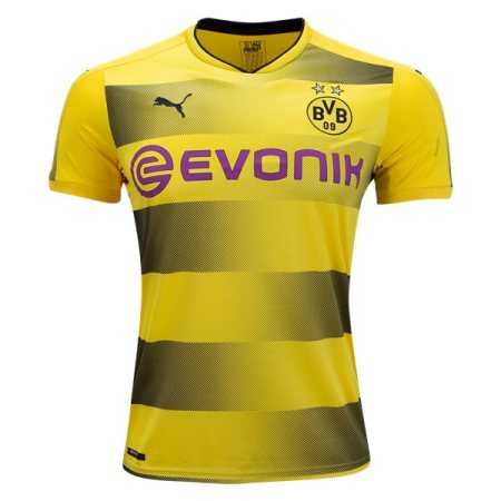 Dortmund 2017-2018 Home Soccer Jersey Fußball Trikot AAA Thailand Quality Cheap Discount Football Shirts Wholesale Online Free Shipping