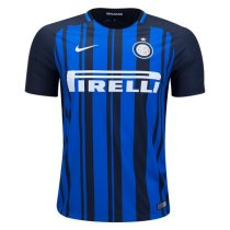 Inter Milan 2017-2018 Home Soccer Jersey Maglia da calcio AAA Thailand Quality Cheap Discount Football Shirts wholesale online store free shipping