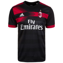 AC Milan 2017-2018 Third Away Champions Soccer Jersey Maglia da calcio AAA Thai Quality Cheap Discount Football Shirts Replica Jerseys Wholesale Online Free Shipping