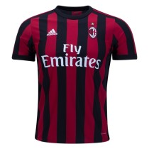 AC Milan 2017-2018 Home Soccer Jersey Maglia da calcio AAA Thailand Quality Cheap Discount Football Shirts Replica Jerseys Wholesale Online Free Shipping