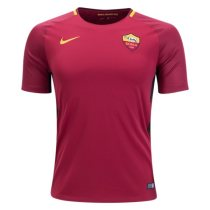 AS Roma 2017-2018 Home Soccer Jersey Maglia da calcio AAA Thailand Quality Cheap Discount Football Shirts Replica Jerseys Wholesale Online Free Shipping