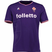 Fiorentina 2017-2018 Home Soccer Jersey Maglia da calcio AAA Thailand Quality Cheap Discount Football Shirts Replica Jerseys Wholesale Online Free Shipping