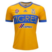 Tigres UANL 2017-2018 Home Soccer Jersey camiseta de Futbol AAA Thailand Quality Cheap Discount Football Shirts Wholesale Online Free Shipping