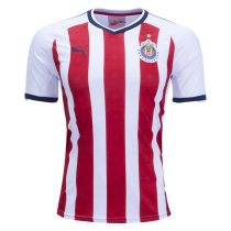 Chivas 2017-2018 Home Soccer Jersey camiseta de Futbol AAA Thailand Quality Cheap Discount Football Shirts Wholesale Online Free Shipping