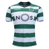 Sporting Lisbon 2017-2018 Home Soccer Jersey camisa de futebol AAA Thailand Quality Cheap discount football Shirt thai version wholesale online free shipping