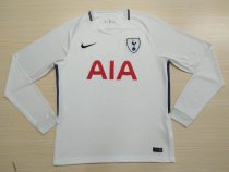 Tottenham Hotspur 17-18 Home Long Sleeve Soccer Jersey LS Football Shirt Discount Cheap Shirts AAA Thailand Quality