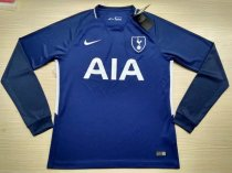 Tottenham Hotspur 17-18 Away Long Sleeve Soccer Jersey LS Football Shirt Discount Cheap Shirts AAA Thailand Quality