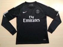 PSG 2017-2018 Third Away Champions Long Sleeve LS Soccer Jersey Maillot de football Cheap Shirt aaa thai quality Discount wholesale online Best Quality