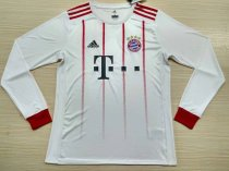 Bayern Munich 2017-2018 Third Away Champions Long Sleeve LS Soccer Jersey Fußball Trikot AAA Thai Quality Cheap Discount Football Shirts Replica wholesale online free shipping