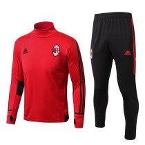 AC Milan 17-18 Tracksuit Top With Pant AC1781501