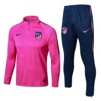 Atletico Madrid 17-18 Tracksuit Top With Pant BR1781502