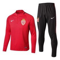 AS Monaco 17-18 Tracksuit Top With Pant MNG1781501