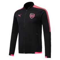 Arsenal 17-18 New N98 Black Color Jacket AAA Thai Quality top Coat