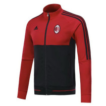AC Milan 17-18 New N98 Black Red Color Jacket AAA Thai Quality top Coat
