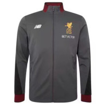 Liverpool 17-18 New N98 Gray Color Jacket AAA Thai Quality top Coat