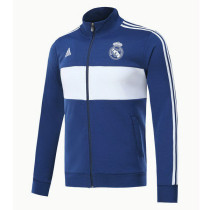 Real Madrid 17-18 New N98 Blue Color Jacket AAA Thai Quality top Coat