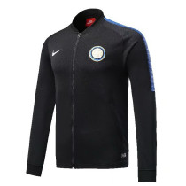 Inter Milan 17-18 New N98 Black Color Jacket AAA Thai Quality top Coat