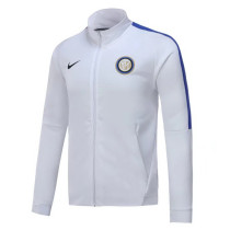 Inter Milan 17-18 New N98 White Color Jacket AAA Thai Quality top Coat